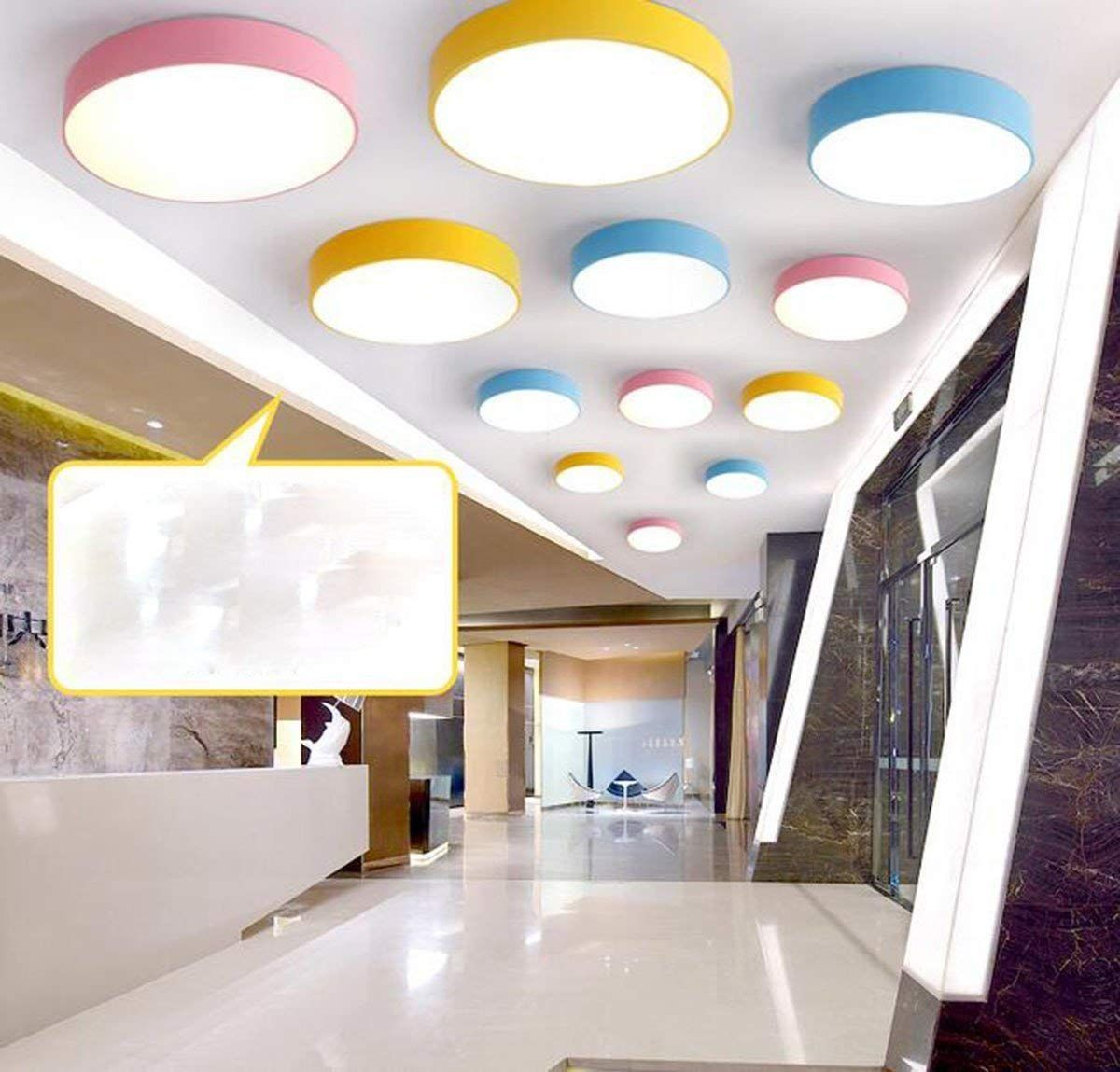 Moderne Deckenleuchte LED Deckenlampe Kinder Lampe, runde