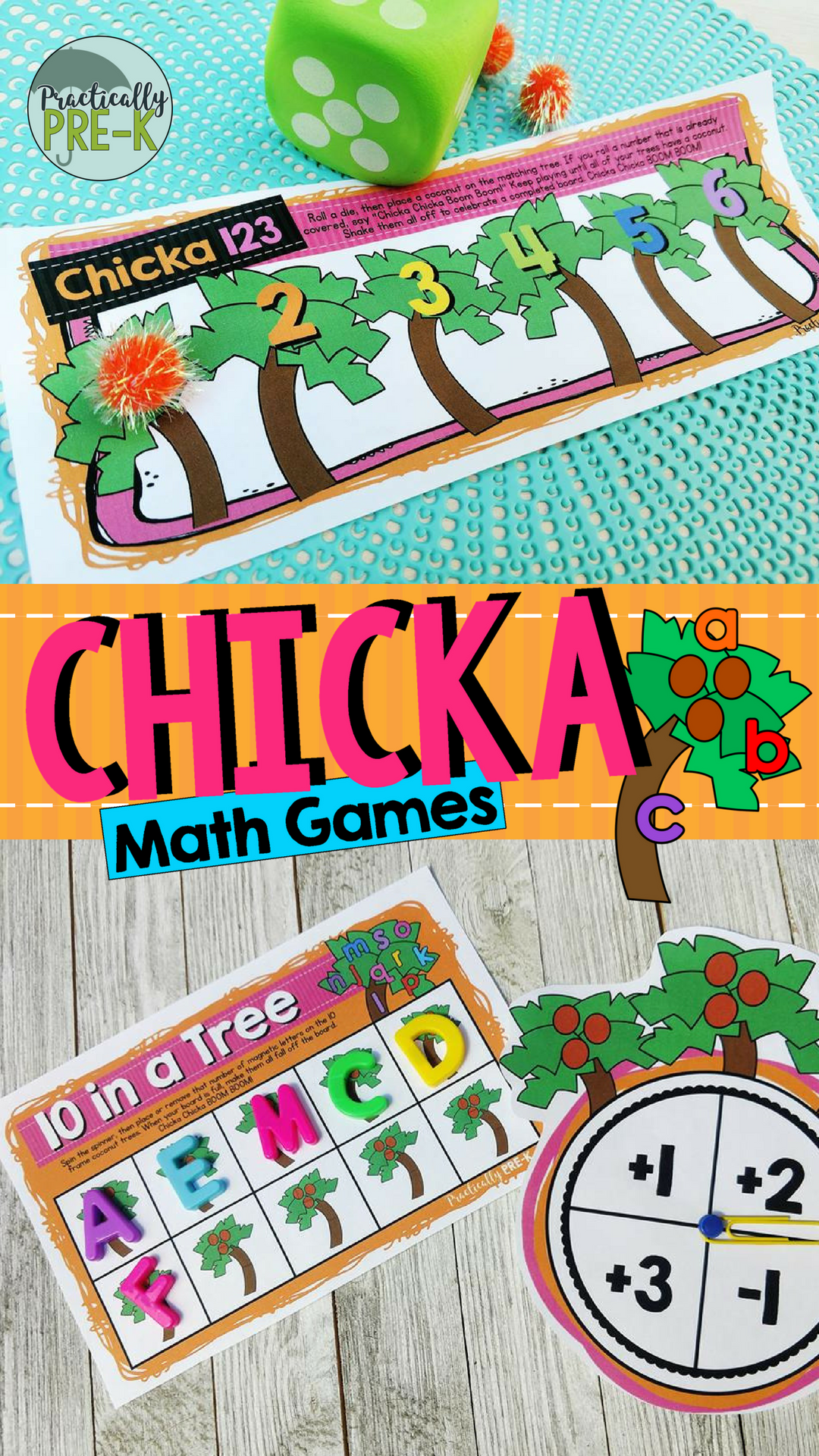 Chicka Boom Math Games Subitizing Shapes Numerals 10