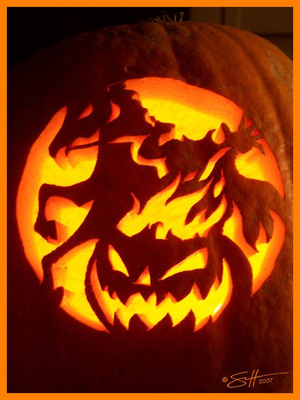 2007 Pumpkin - Heads Up by scottalynch | Halloween idears | Pinterest