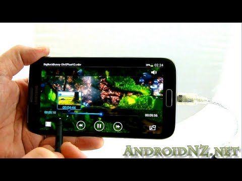 Connect a portable DVD player to Android USB OTG device without rooting
