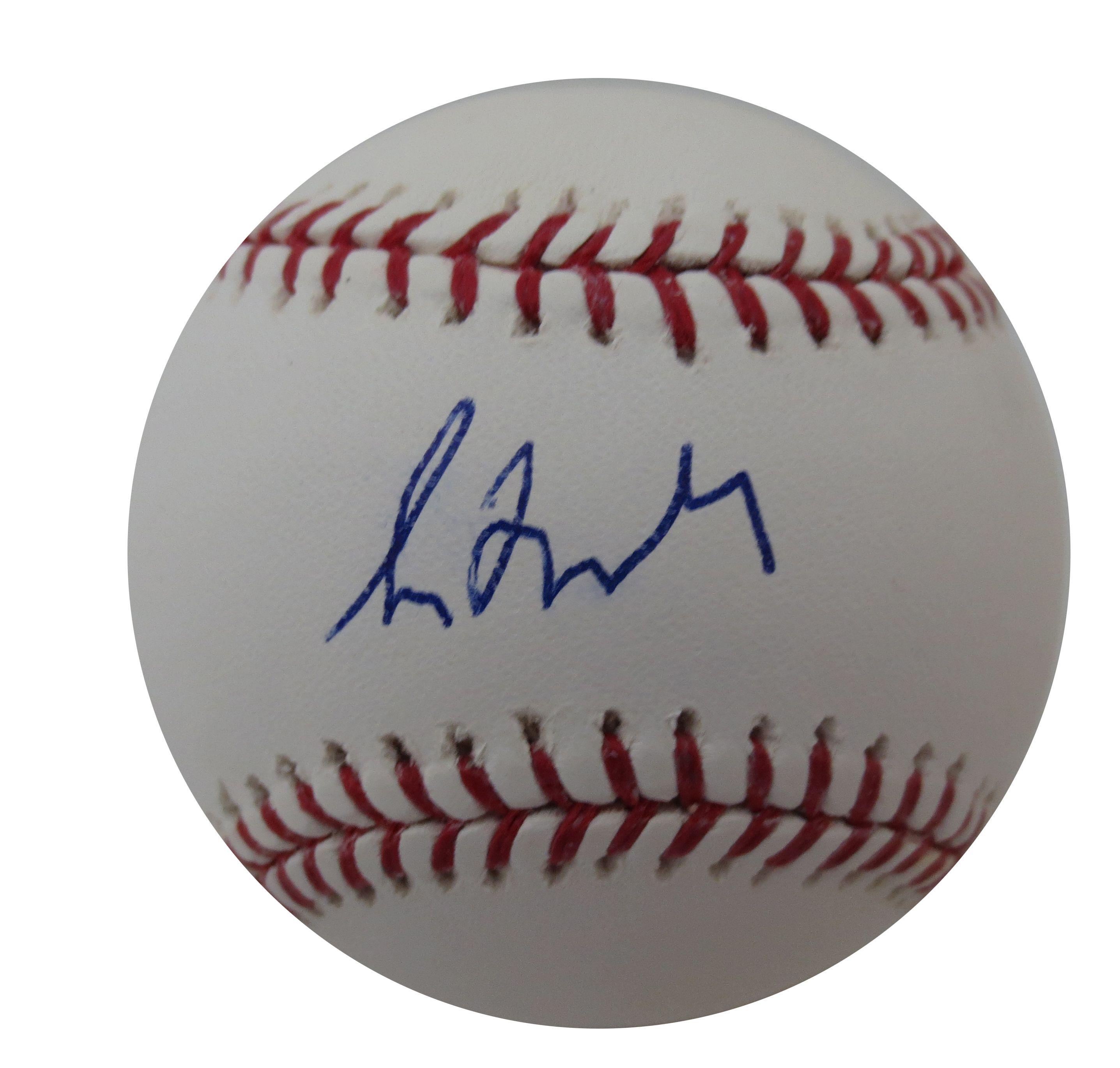 Greg Maddux Signed Mlb Baseball From Powers Autographs 99 95 Http Www Powersautographs Com Greg Maddux Autographed Mlb Signed Greg Maddux Mlb Baseball Mlb