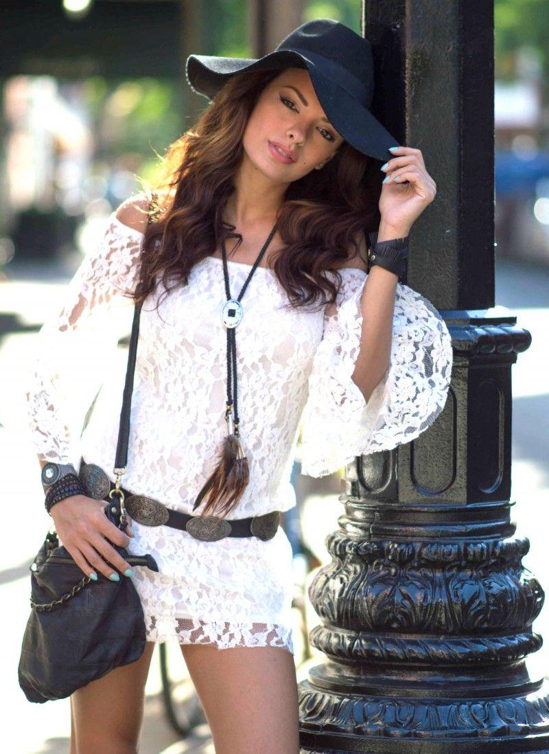 WHITE LACE DRESS! | O Fantastico Mundo De Nicole