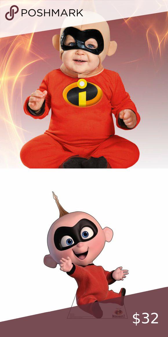 Disney The Incredibles Baby Jack Jack Costume The Incredibles Baby First Halloween Disney