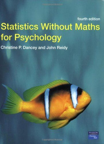 Statistics Without Maths For Psychology Using Spss For Windows By