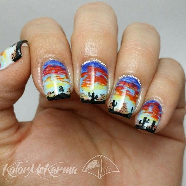 Log In Instagram Crazy Nail Art Western Nail Art Latest Nail Designs