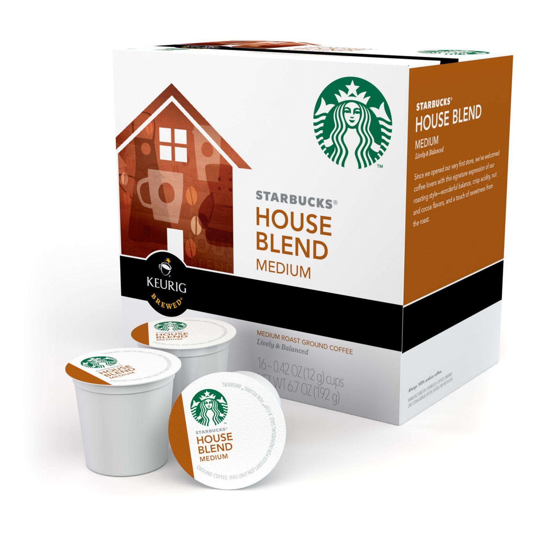 Keurig Starbucks House Blend KCups 96 pk. 111985