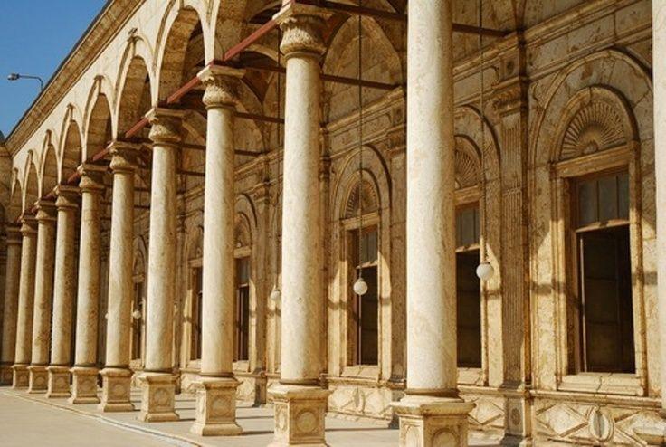 Alabaster Mosque Exterior Egypt Cairo Car Rental Cairo