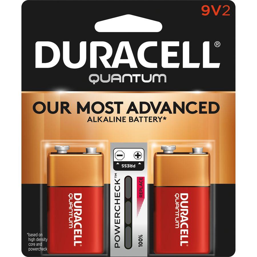 Duracell Quantum Alkaline 9 Volt Batteries 2 Pack Lowes Com In 2021 Duracell Alkaline Battery 9 Volt Battery