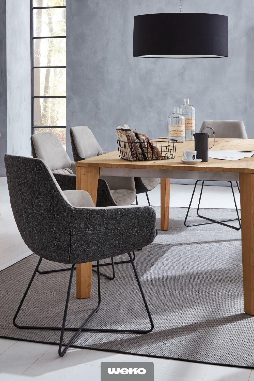 Esszimmer Ideen | Esstisch stühle, Esszimmer modern