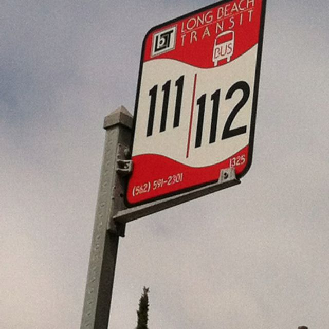 Long Beach Transit Sign