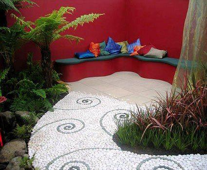 ideas grandes para jardines pequeos diseos de jardines