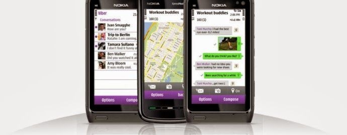 Download Viber for Nokia Asha 200, 201, 202, 203, 205, 206