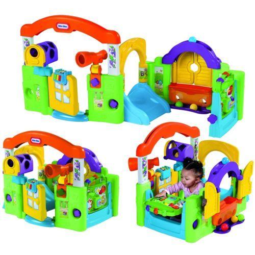 das beste von ebay little tikes spielcenter baby spielplatz kinder multispa kleinkind spielzeug. Black Bedroom Furniture Sets. Home Design Ideas