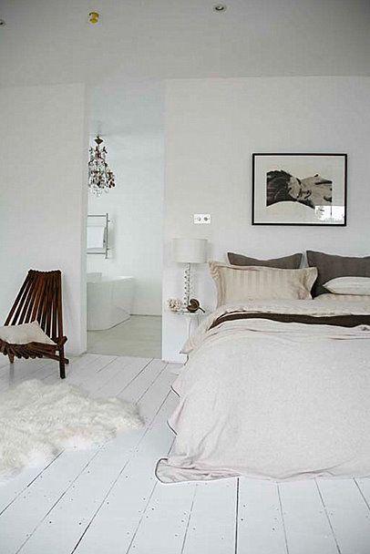 Witte Houten Vloer Slaapkamer.Witgeschilderde Houten Vloer My Room Slaapkamer