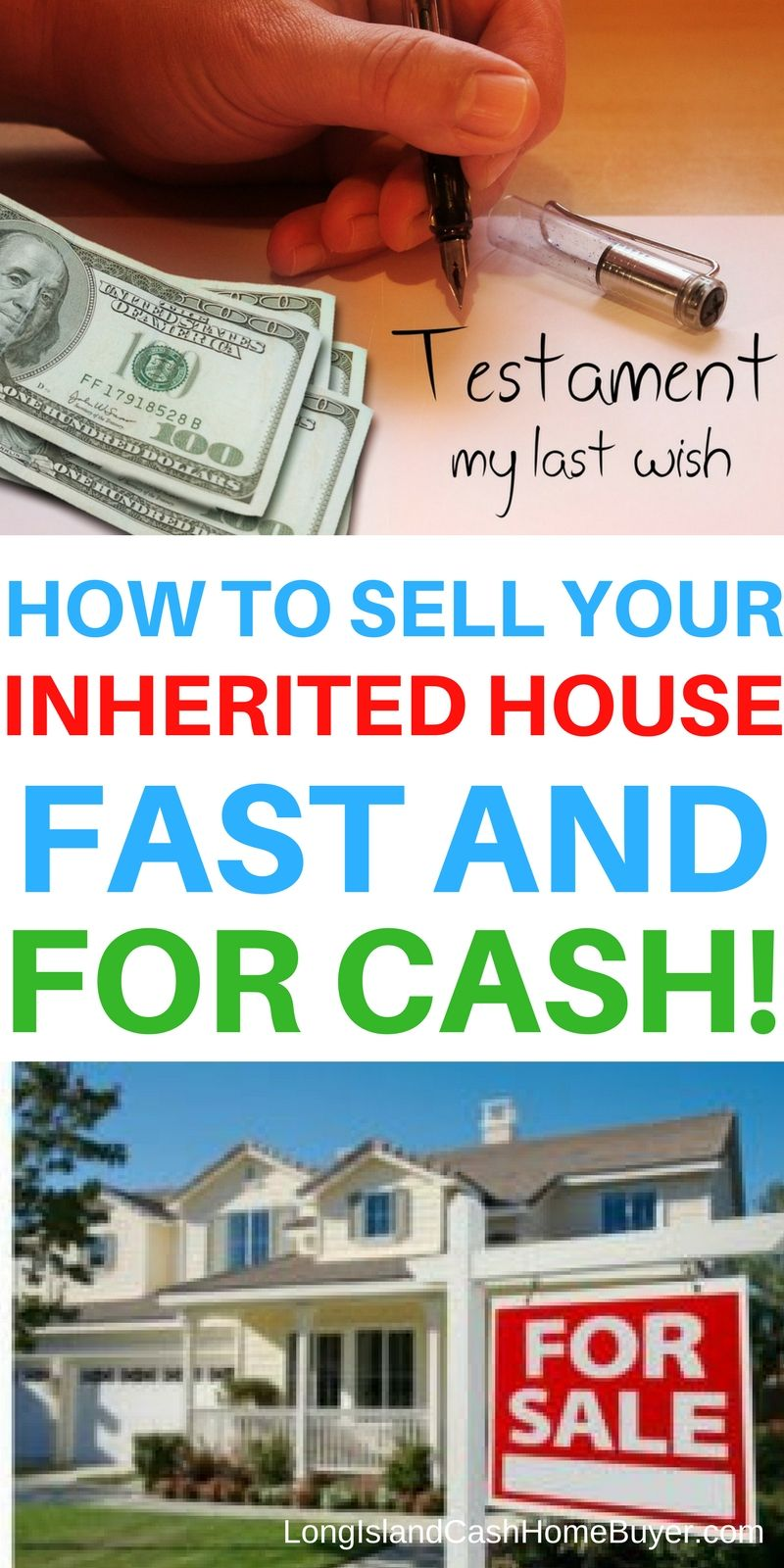How To Sell Your Inherited House Fast And For Cash On Long Island