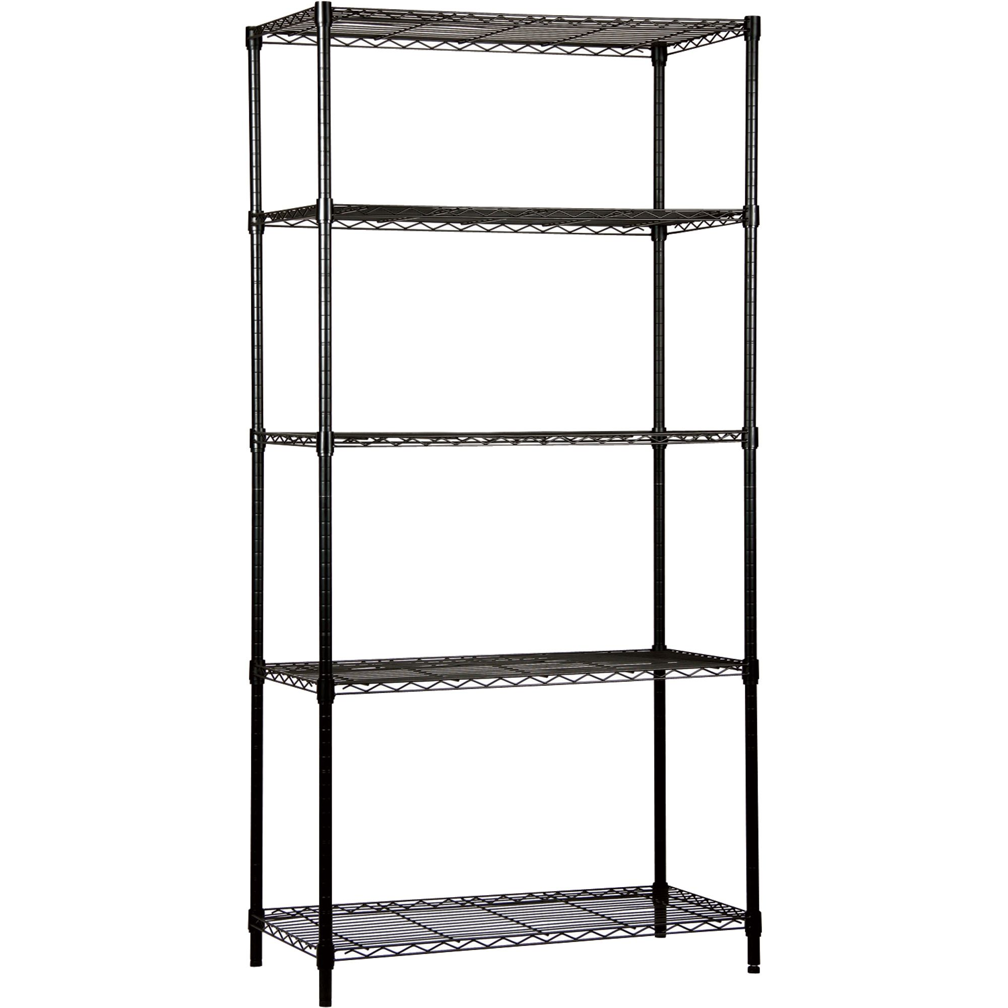 Black Wire Shelving Unit | Wire Shelving | Pinterest | Wire shelving ...