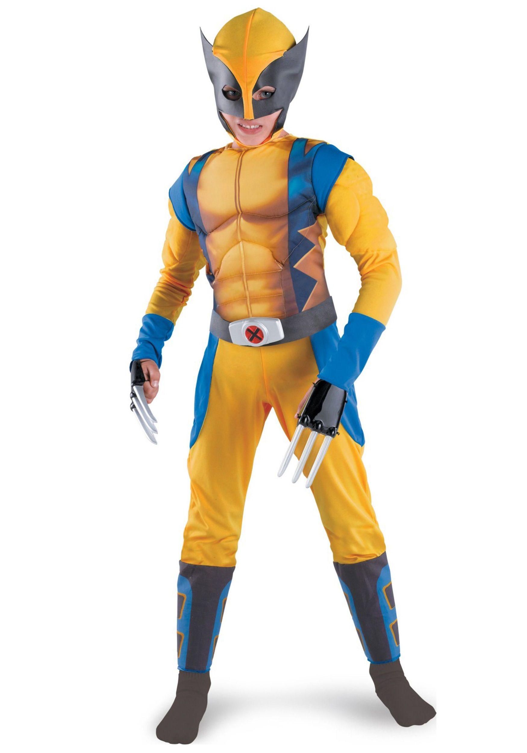 Kids Wolverine Origins Costume   Best Wolverine origins, Boy ...