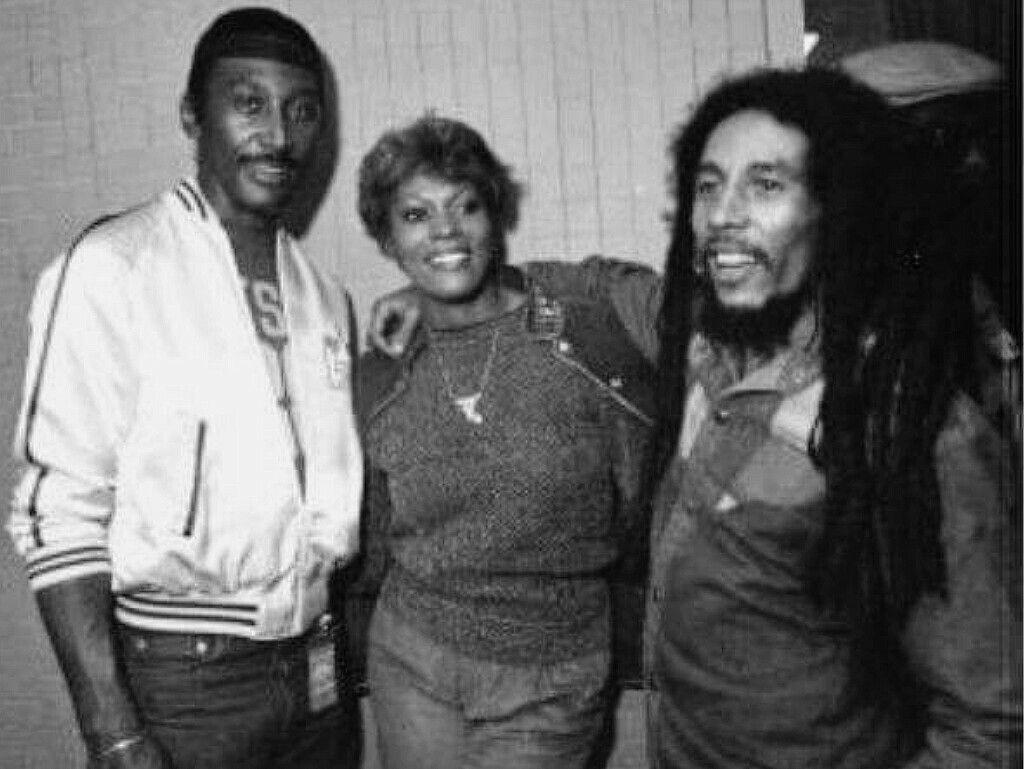Inna Ny Frankie Crocker Dionne Warwick Bob Marley Bob