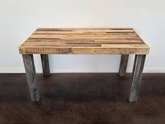 finest selection 704b1 cc617 Reclaimed Wood Desk Modern Rustic Work Table Laptop Station ...