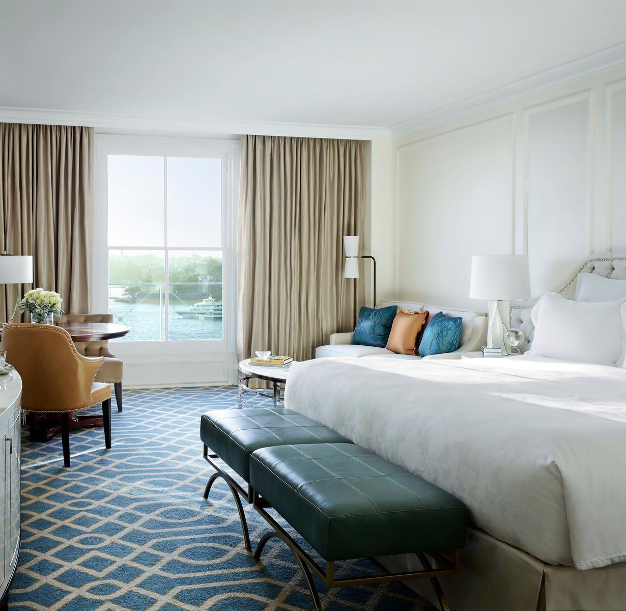 The Langham, Sydney Australia Bedroom Classic Elegant