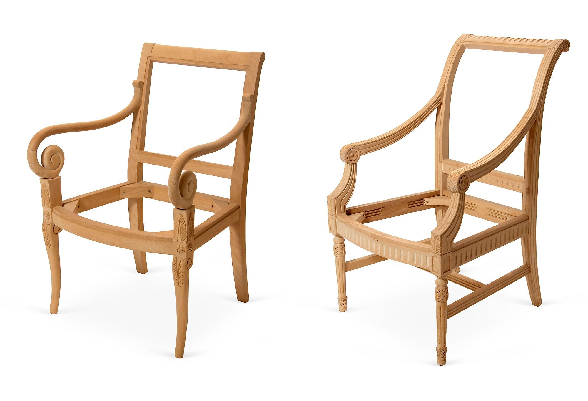 Unfinished chair frames. Oh the possibilities.   Crafts   Pinterest ...
