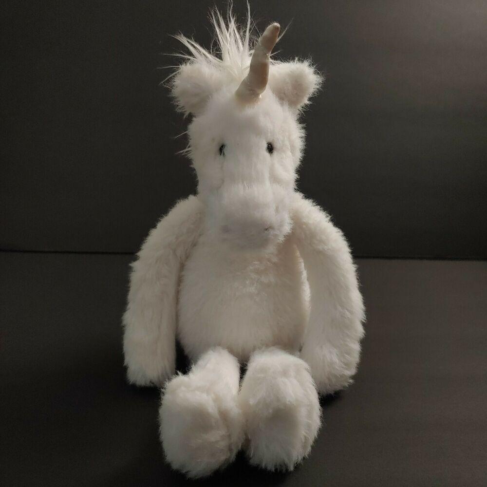 Jellycat Sweetie Unicorn Plush Stuffed Horse Toy 12 Jellycat In 2020 Unicorn Plush Jellycat Sweetie