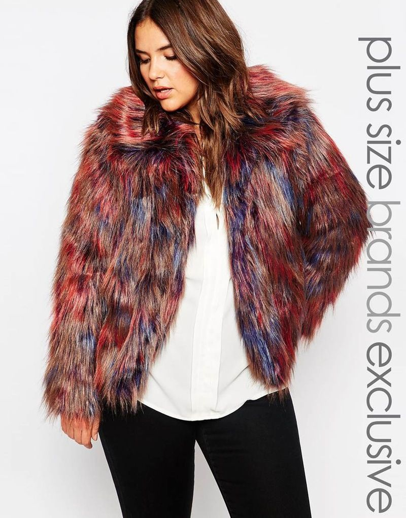 37ad2cd973 17 Plus Size Faux Fur Coats To Help You Channel Your Inner Cookie Lyon This  Winter