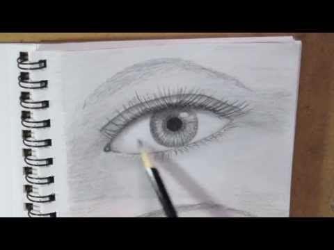 Cuando Hablamos Sobre Tecnicas De Dibujo Pretendemos Que Estos Sean Como Muestras Certeras De Lo Que Pretende Ojos A Lapiz Como Dibujar Ojos Dibujos Sencillos