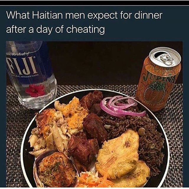 dating a haitian woman meme