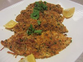 My Kitchen Adventures: Parmesan-Crusted Tilapia