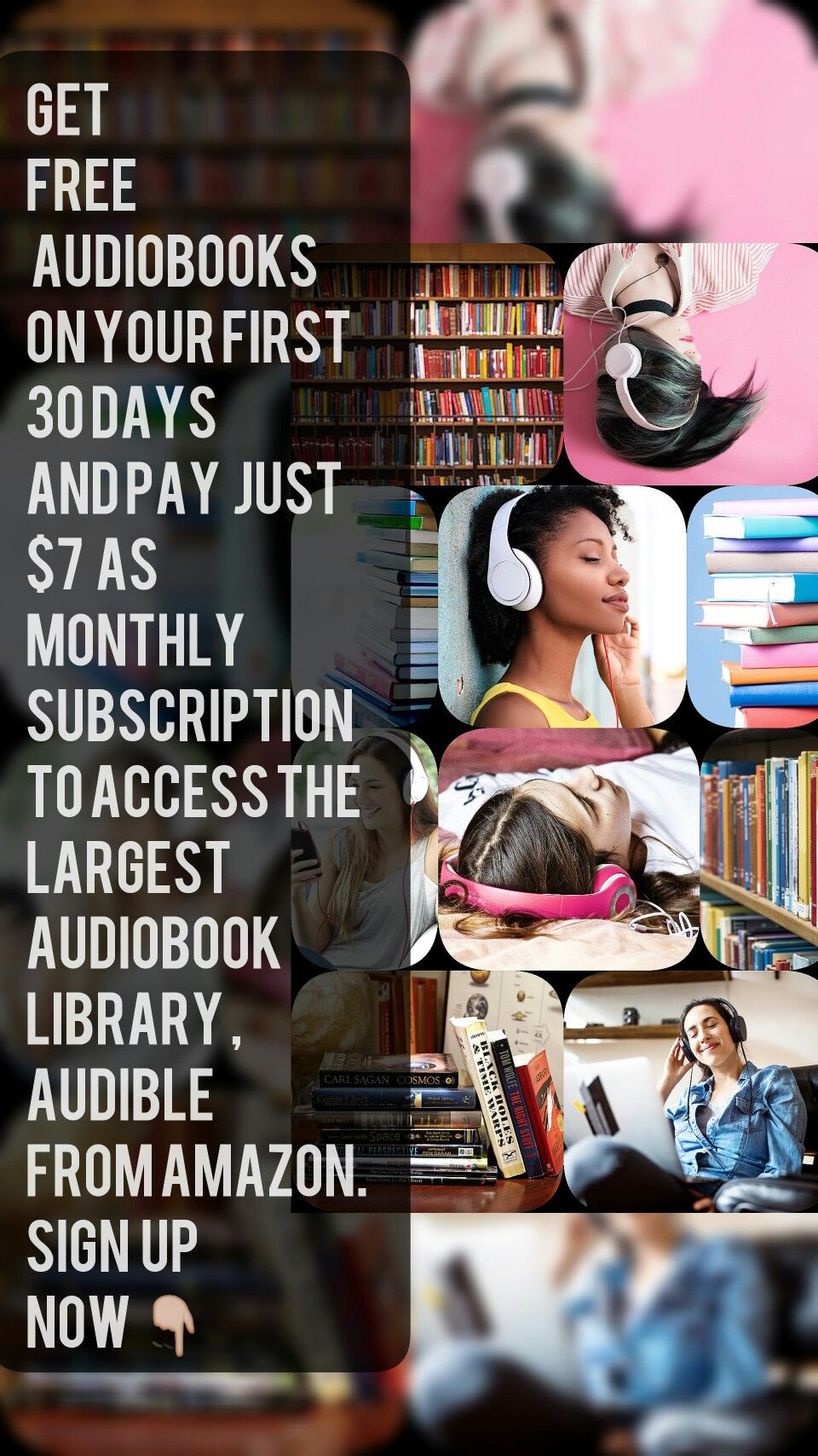 Get Free Audiobooks From Audible On Your First 30 Days Join Now And Cancel Membership Anytime Audiobooks Sunshine Books Best Audiobooks