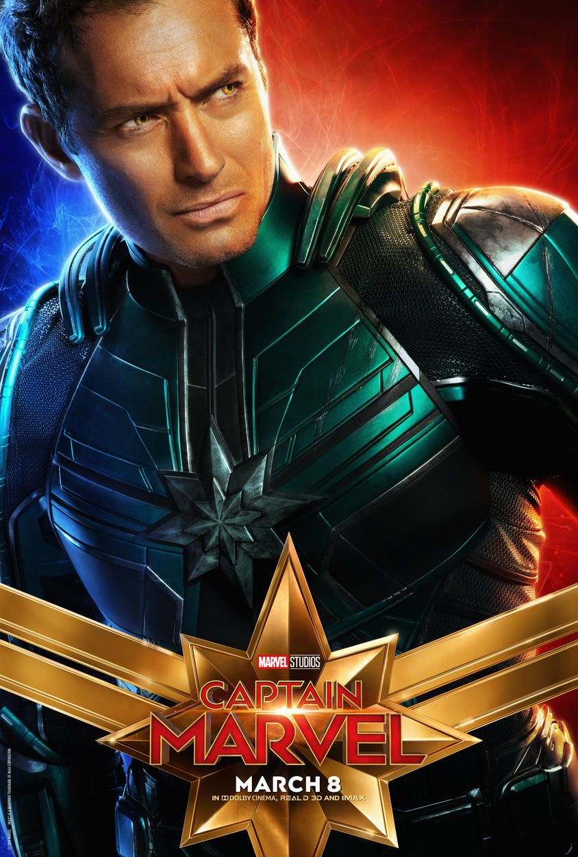 captain marvel character posters | captain marvel | marvel movie