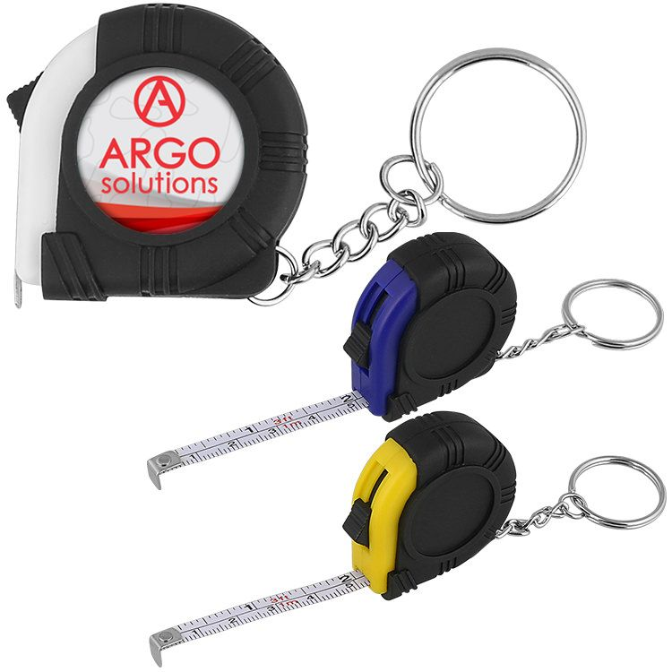 Key Ring Tape MeasureFull Color Key rings, Tape measure