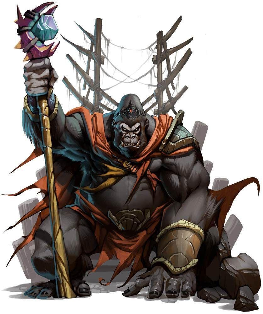 Custom race http://nerdarchy.com/2015/06/dungeons-dragons-5th-edition-custom-race-simians/