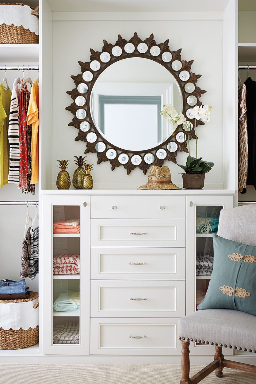 Southern living idea house in charlottesville va for Southern closets