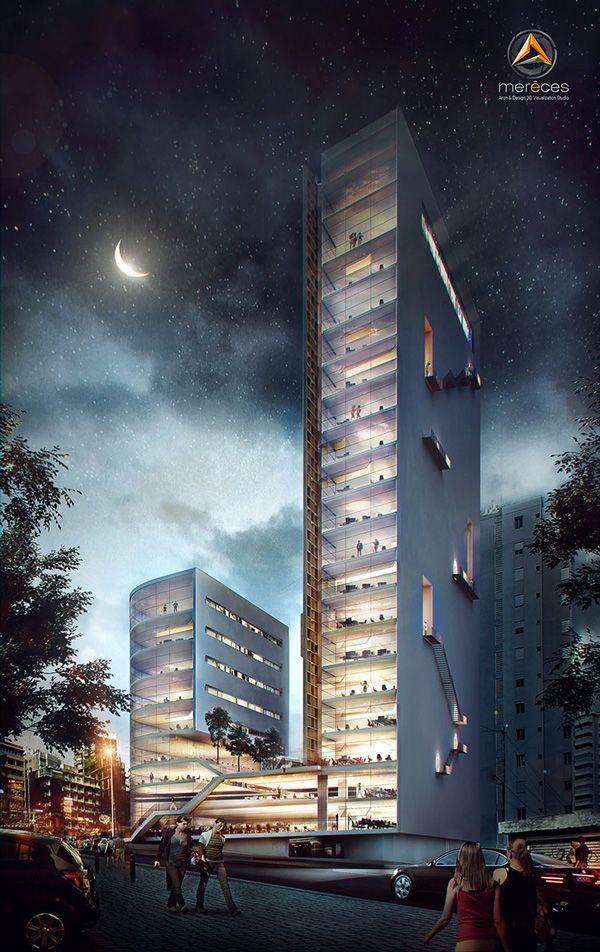 Company Headquarters by Sérgio Merêces, via Behance