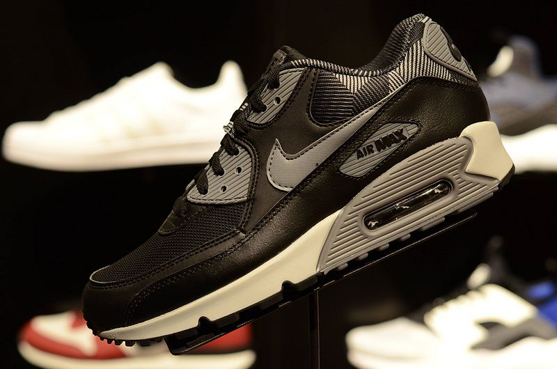 Real 2018 NIKE AIR MAX 90 Print Mens 2018 Casual Running Shoes 749817-010  Black Cool Grey Pure Platinum 4824c0060