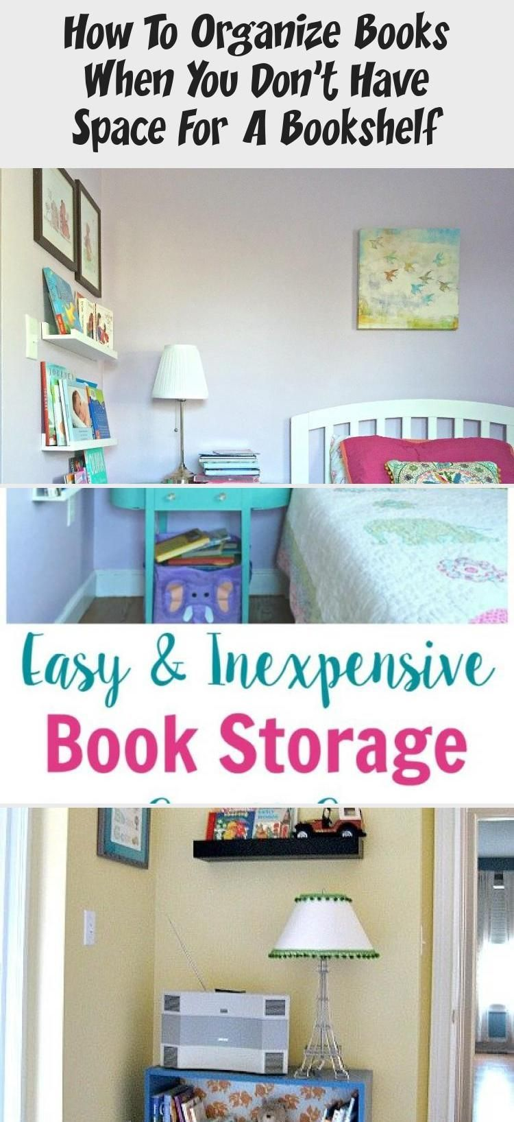 These Small Space Book Storage Ideas Are Great For Your Tiny Bedroom Nurseries And Kids R In 2020 Book Storage Small Space Tiny Bedroom Book Storage