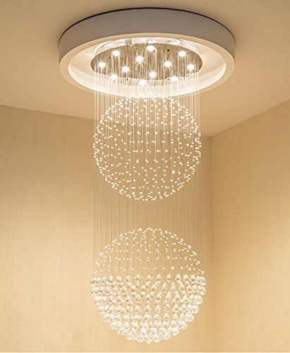 Best Bathroom Light Fixtures Saint Mossi Crystal Rain Drop