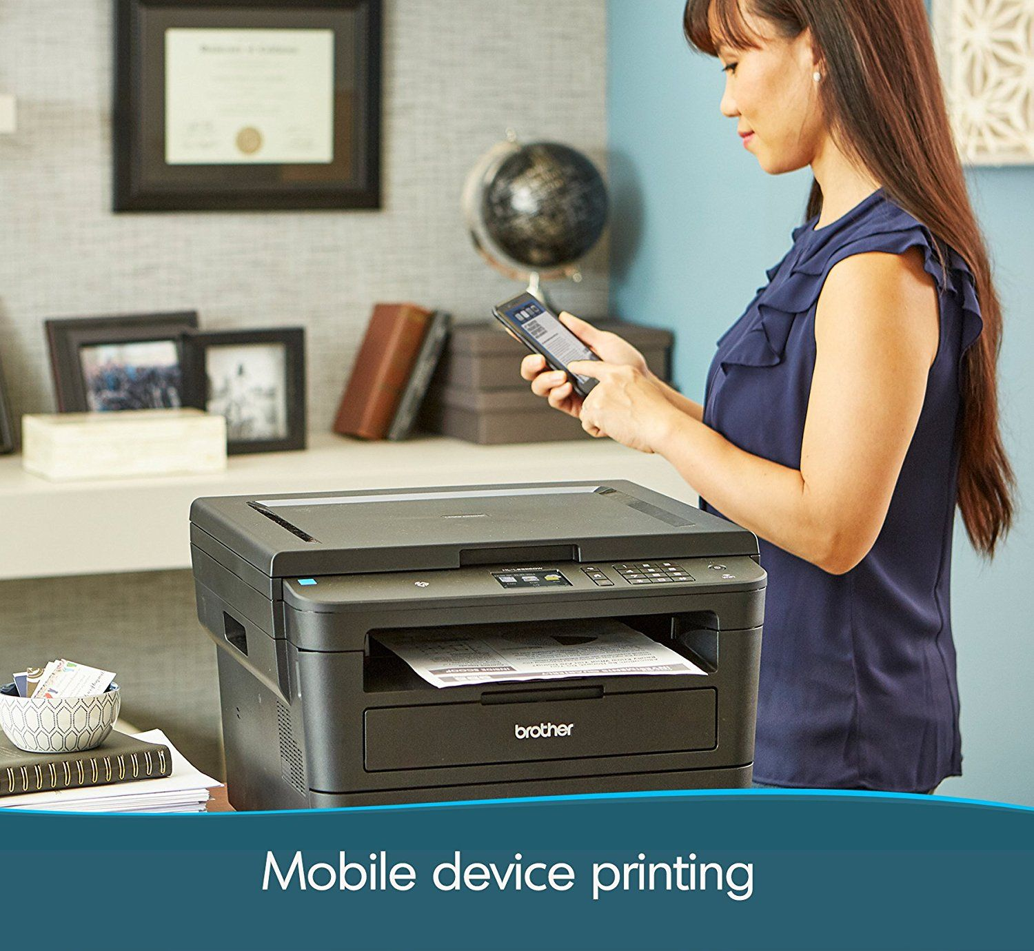 Brother Compact Monochrome Laser Printer Designed For Convenience This New Brother Monochrome Laser Printer Is Helpful Laser Printer Printer Color Cartridges