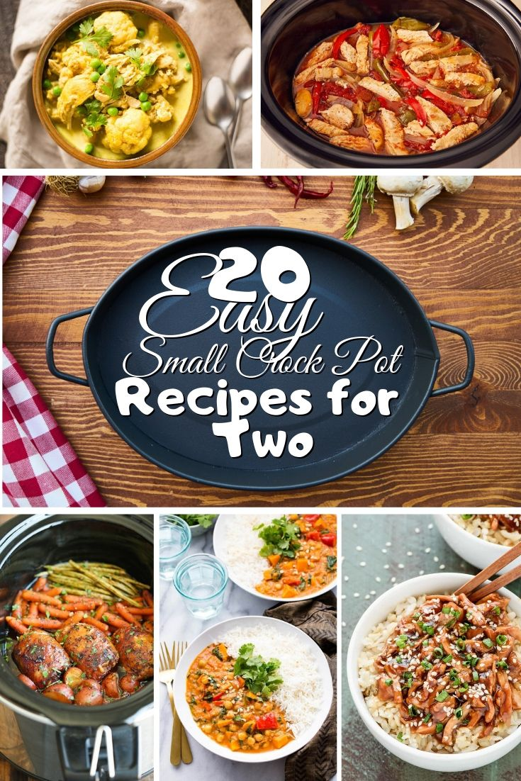 Photo of 20 Easy Small Crock Pot Recipes for Two