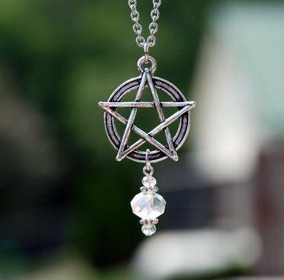 Put it on a long silver chain..love it!