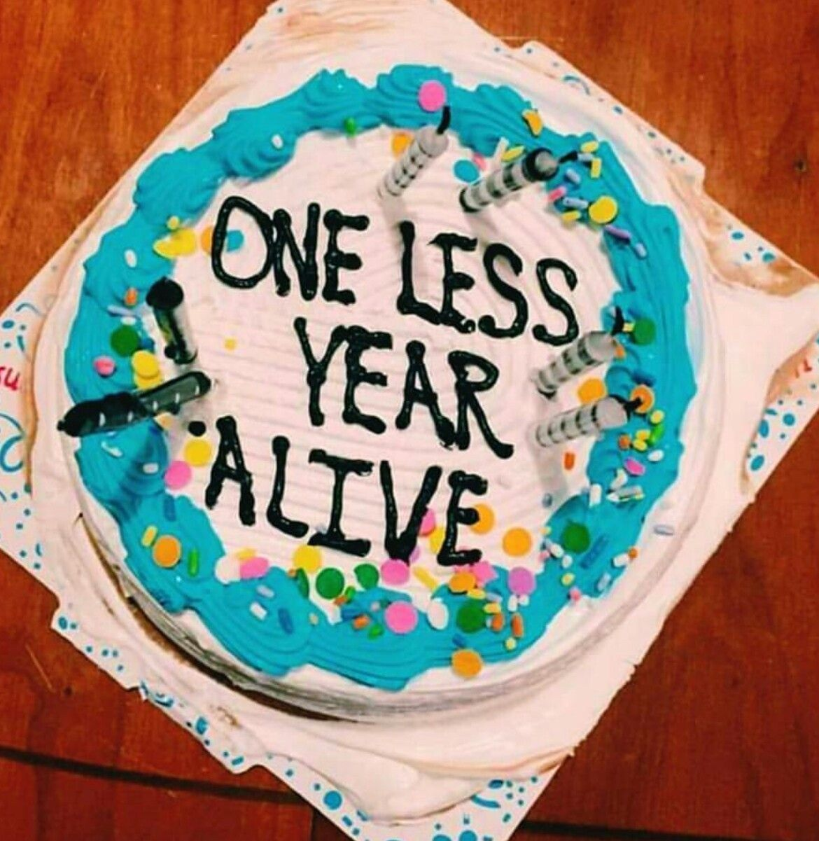25+ Awesome Photo of Funny Birthday Cake Messages . Funny