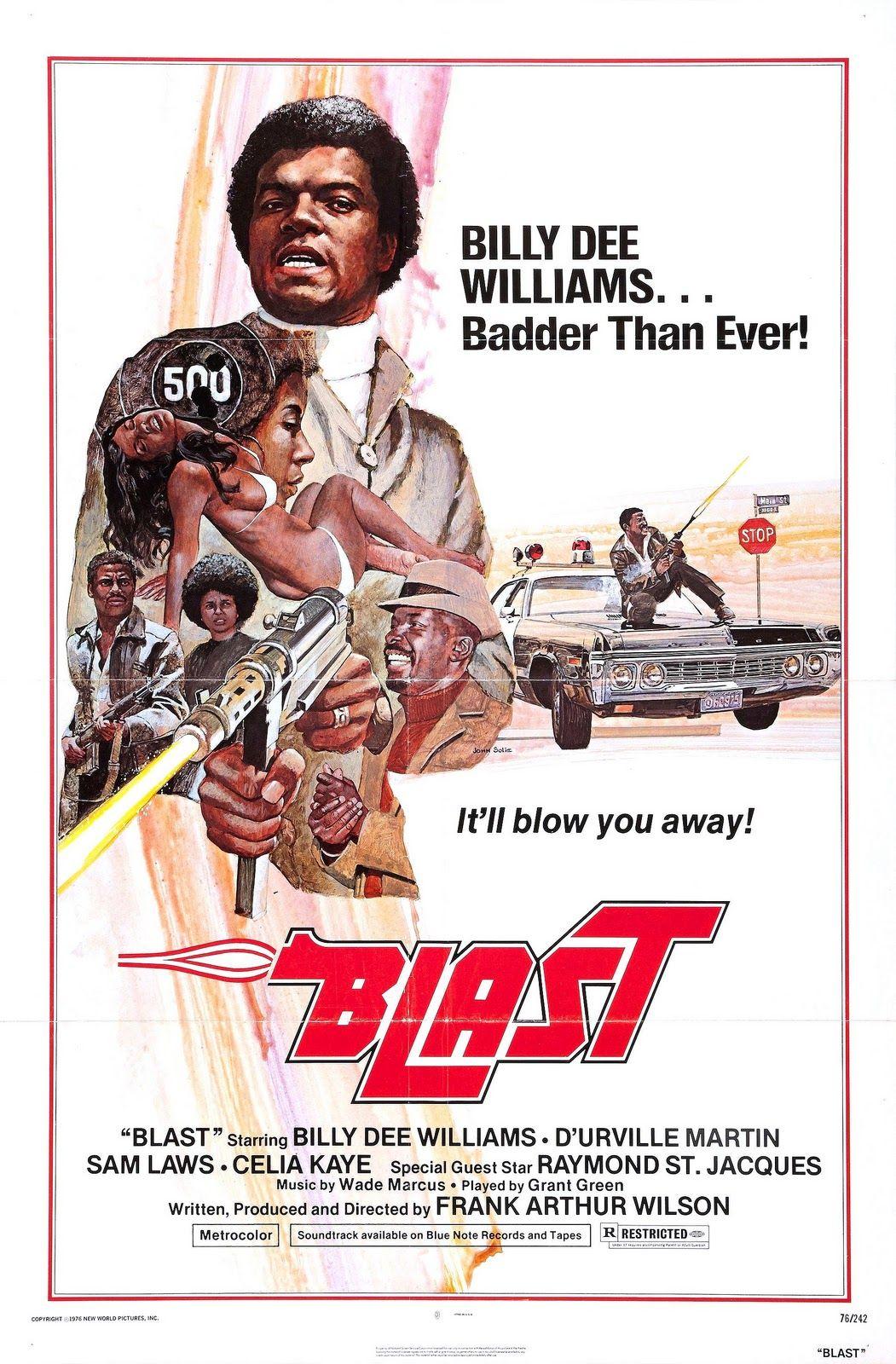 Blast movie blaxploitation 70s poster exploitation