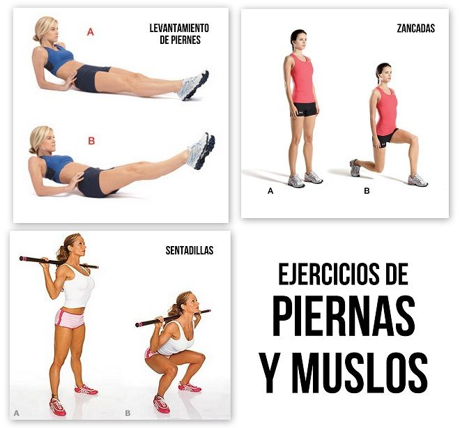 Rutina ejercicios adelgazar piernas