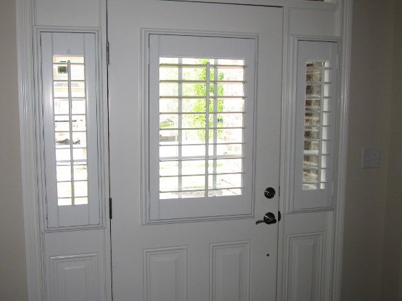 Front Door Window Shutter With Images