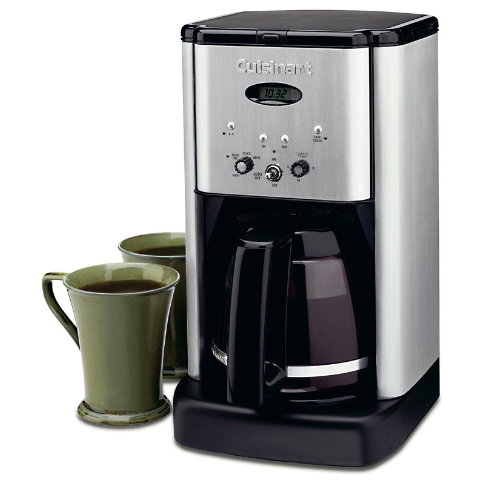 Cuisinart Dcc 1200 Brew Central 12 Cup Programmable Coffeemaker Black Stainless Best Drip Coffee Maker Cuisinart Coffee Maker Camping Coffee Maker