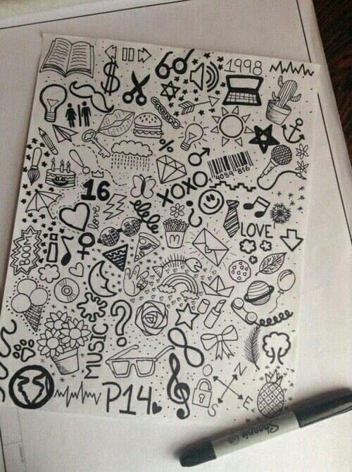 - ̗̀ pinterest @elizabethloren_ ̖́-   doodles   Drawings ...