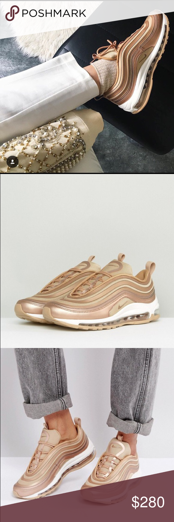 new concept 8cf68 4aae1 nike air max 97 metallic cashmere nz|Free delivery!