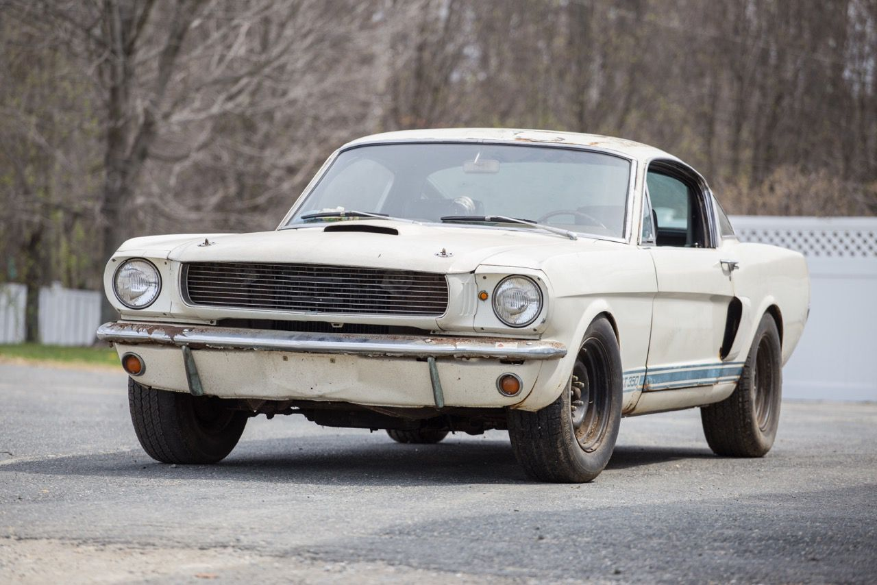 1966 Ford Mustang Shelby GT350 Unrestored, one owner   1965-66 ...